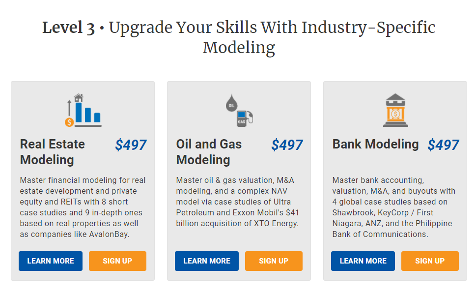 Industry Specific modeling