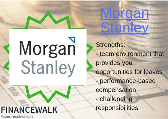 Morgan Stanley Top Investment Banking Employer