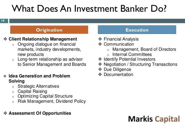 Your Complete Guide to Role of an Investment Banker 2